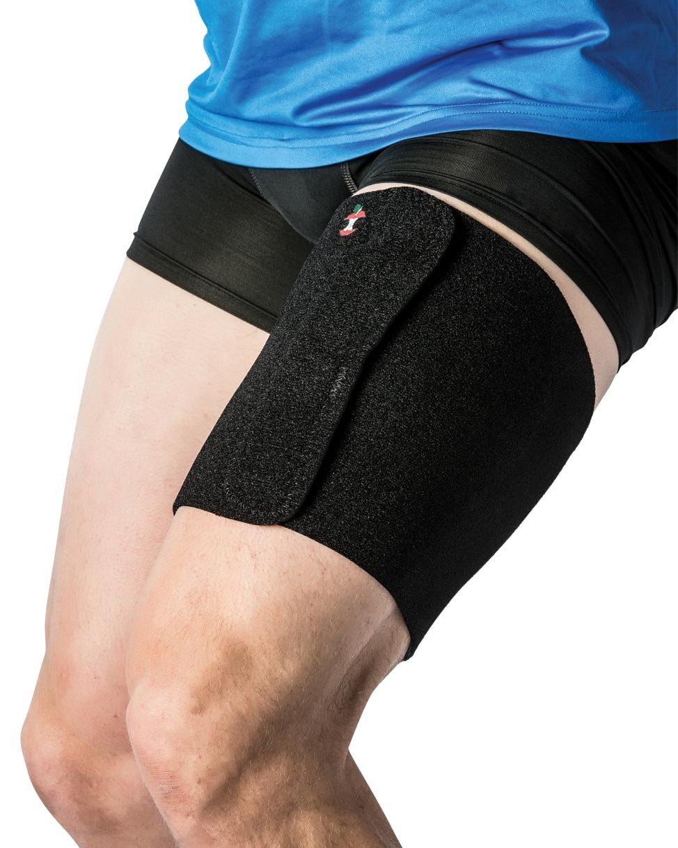 Thigh Wrap X-Large - Black