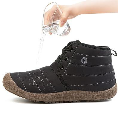 JIASUQI Men's Classic Outdoor Boots Casual Walking Shoes Black 7 ...