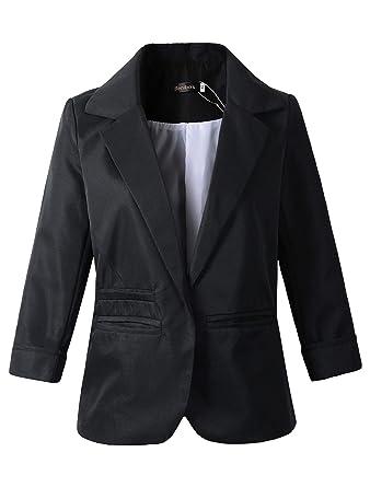Women S Boyfriend Blazer Tailored Suit Coat Jacket At Amazon Women S