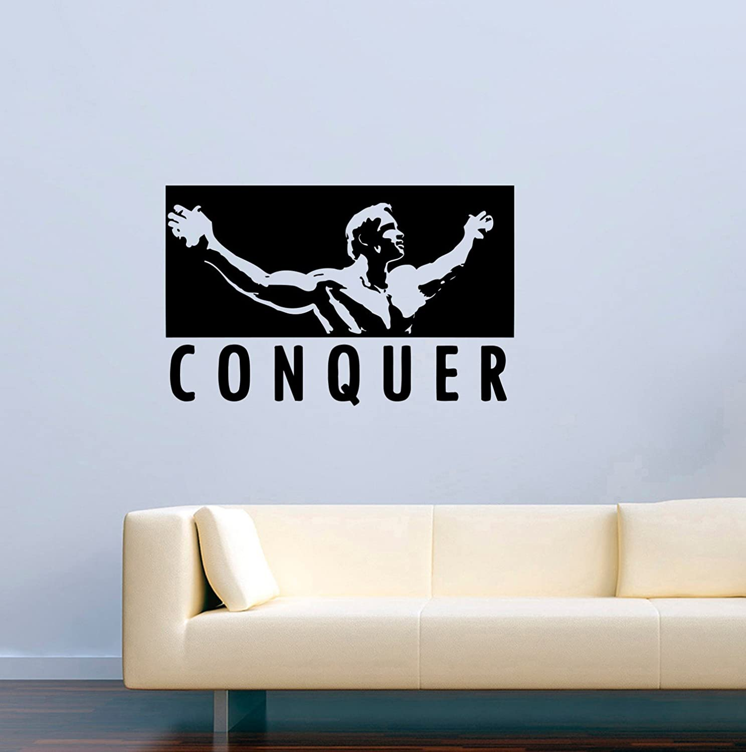 Removable Fabric Stickers Decors Sports Wall Stickers