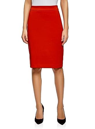4eda1658b8bf oodji Collection Femme Jupe Droite Classique  Amazon.fr  Vêtements ...