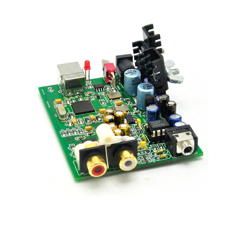 PCB For SU0 XMOS U8 + AK4490 asynchronous USB DAC 192K-24BIT