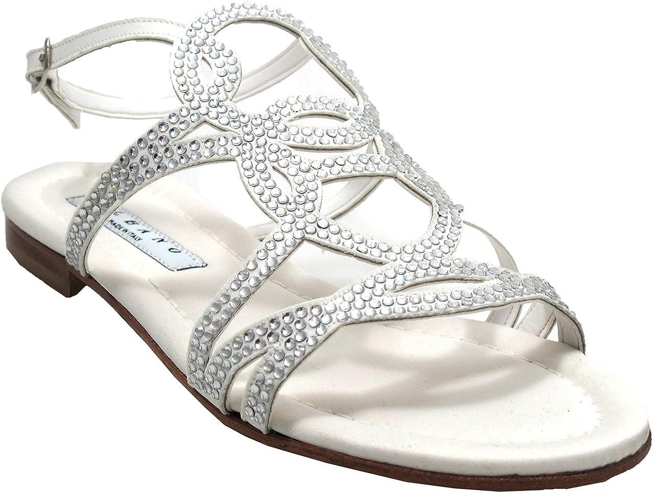 ALBANO 4694 Women's Flat Dressy Strappy