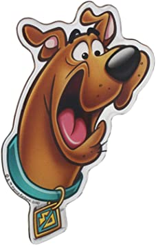 Domed Emblem Sticker for Cars Trucks Scooby Doo Gang Character Automotive Decal