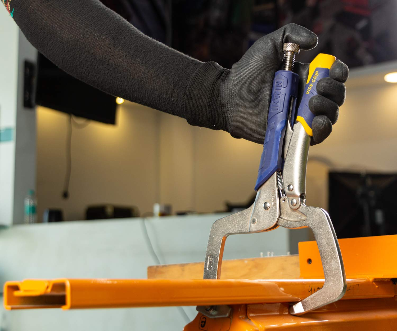 Regular Tips IRWIN Tools Vise-Grip Fast Release Locking C-Clamp 19T 11-inch