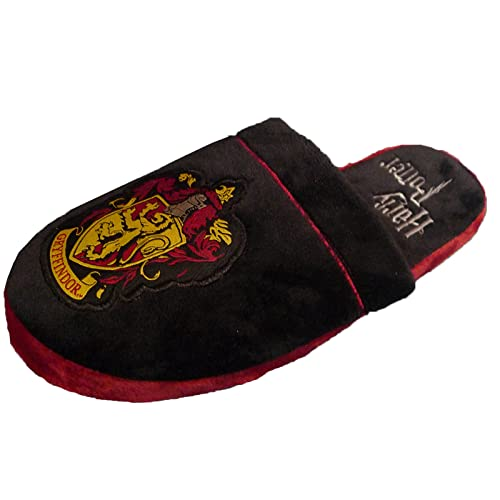 33ab33fbb8c Groovy Harry Potter Adults Gryffindor Mule Slippers - Gryffindor Slippers -  UK 5-7