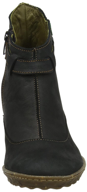 Ne28 Soft Grain Yggdrasil, Bottes Classiques Femme, Noir (Black), 36 EUEl Naturalista