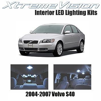 xtremevision Volvo S40 2004 – 2007 (14 piezas) blanco frío paquete de interior LED
