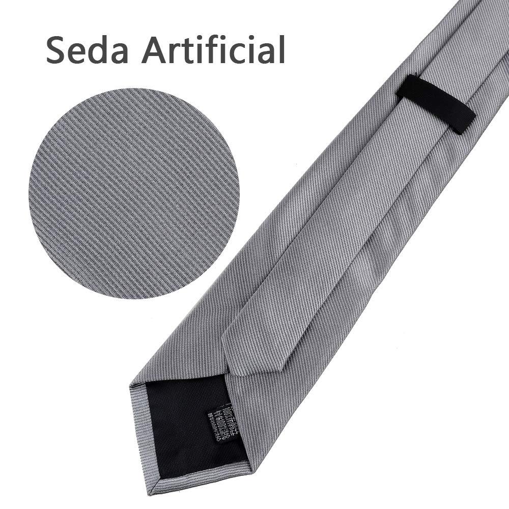 Rovtop Corbatas de Hombre Regalo Conjunto - Set de corbata Hombre ...