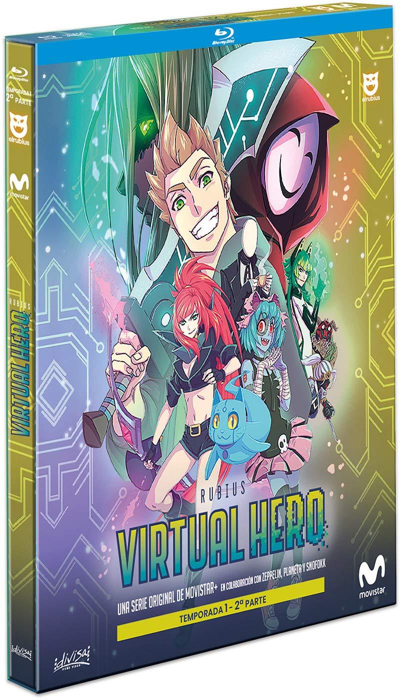 Virtual Hero Temporada 1 Parte 2 [Blu-ray]: Amazon.es: Rubén Doblas, Miguel Ángel Rogel, Sergio Zamora, Alexis Barroso, Rubén Doblas, Miguel Ángel Rogel: Cine y Series TV