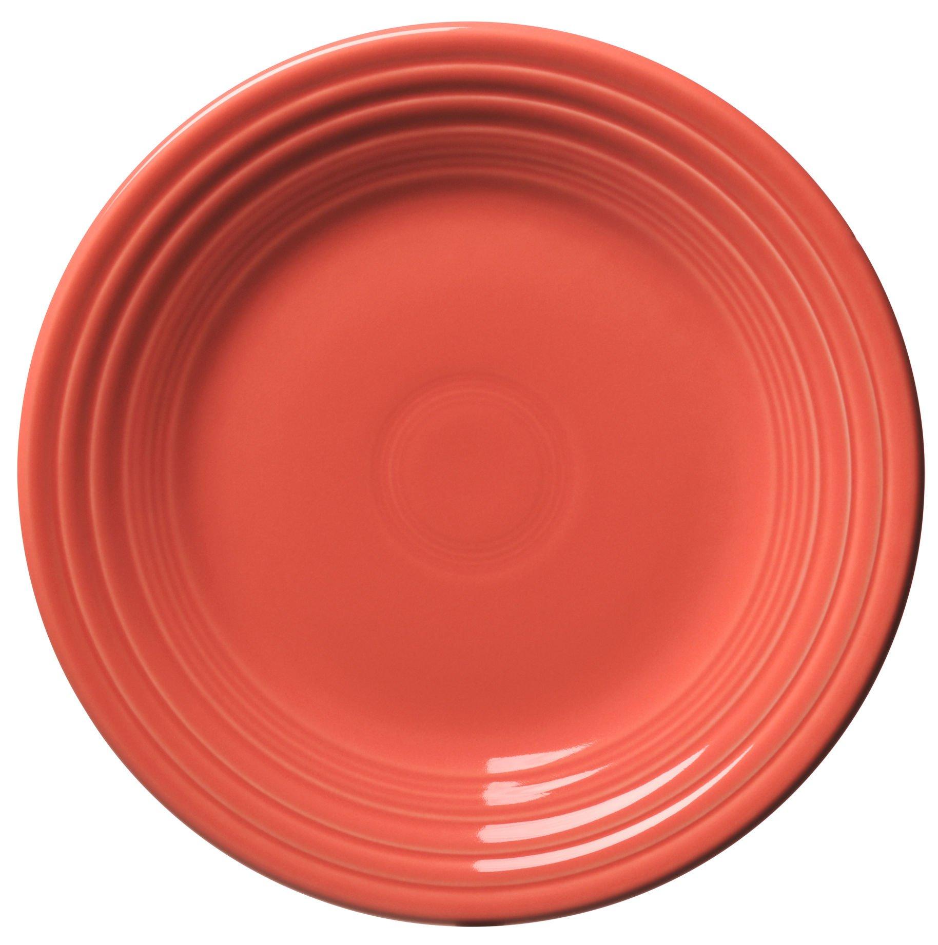 Fiesta 9-Inch Luncheon Plate, Flamingo
