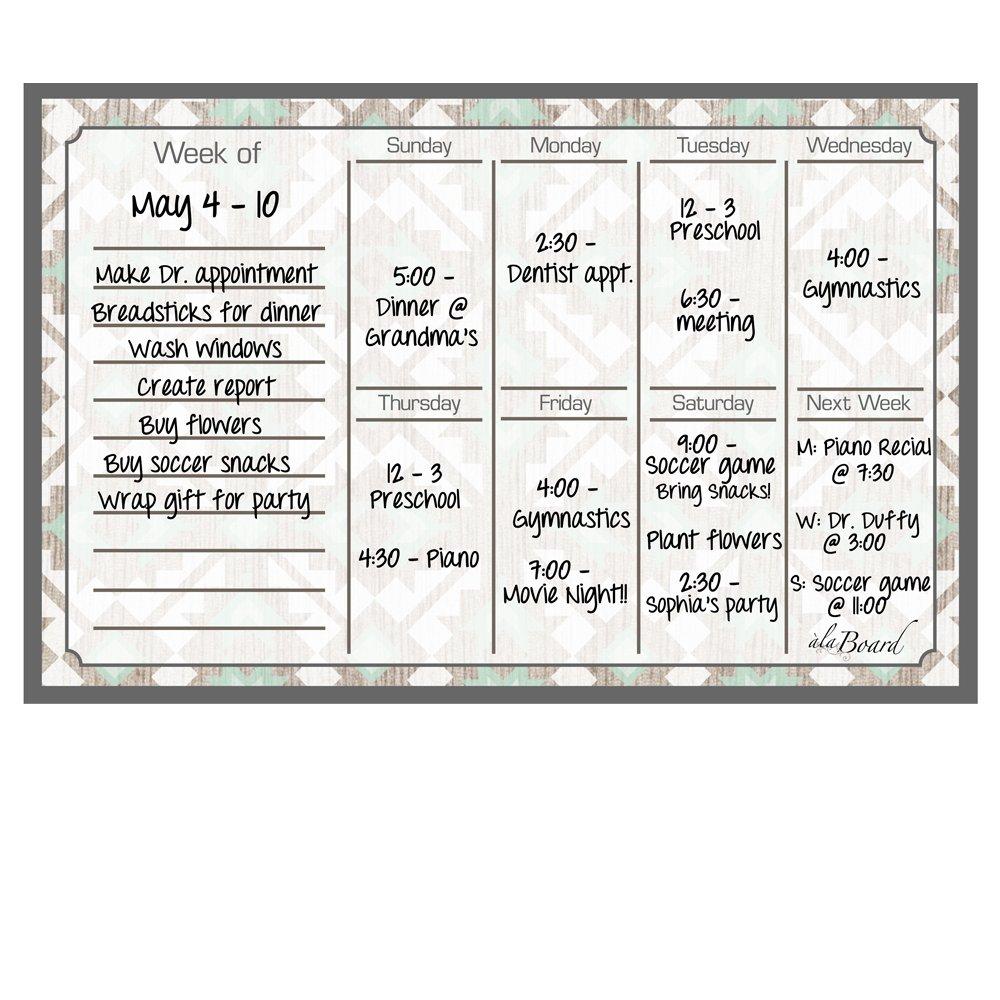 Borrado en calendario seco imán calendario en semanal citoesqueleto espiga 69648d