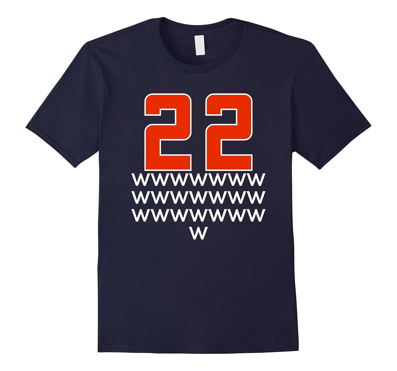 22 Wins CLEVELAND Win Streak History T Shirt-BN