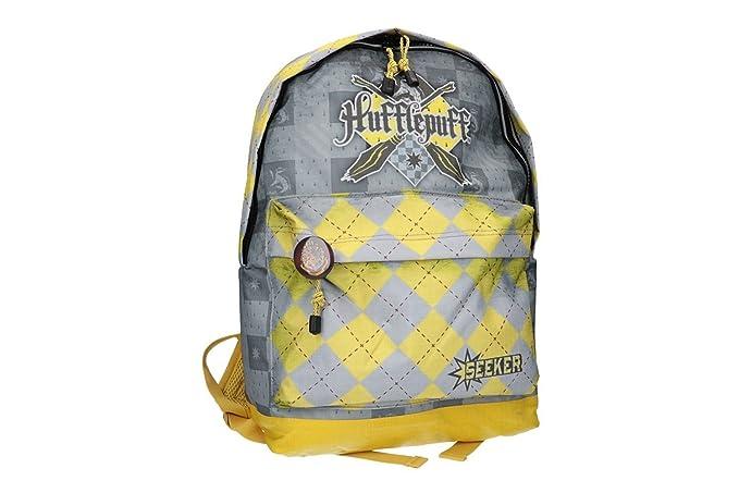 Mochila niño HARRY POTTER bolsa de ocio escolar amarillo VZ791: Amazon.es: Ropa y accesorios