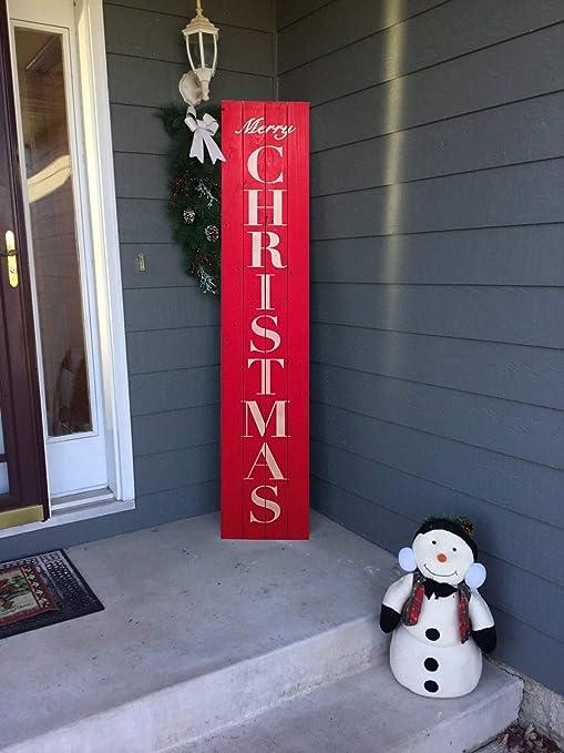 Amazon.com: Blanche989 - Cartel de Navidad con texto en ...