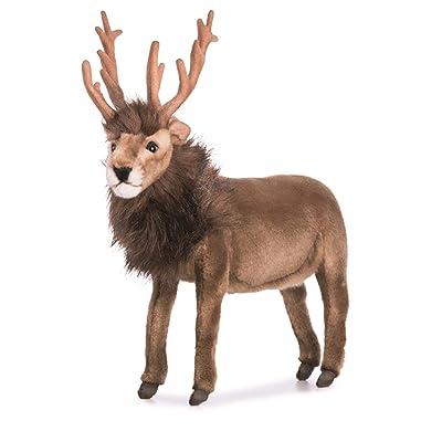 HANSA Reindeer Plush, Brown: Toys & Games