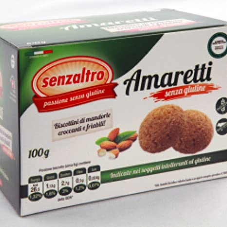 Senzaltro Amaretti Senza Glutine 100g Amazon It Salute E Cura Della Persona