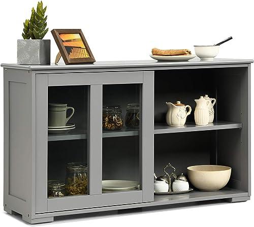 Costzon Kitchen Storage Sideboard