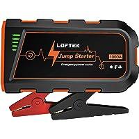 $39 » LOFTEK Car Battery Jump Starter (Up to 7.0L Gas or 5.5L Diesel Engine), 1000A Peak…