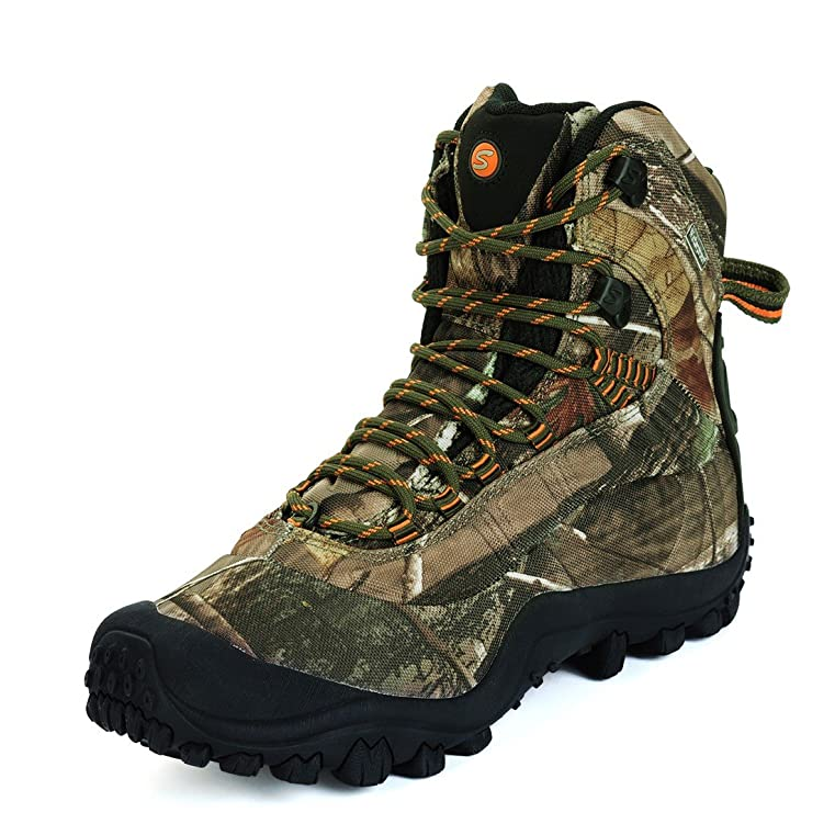 Men's Mid-Rise Outdoor Waterproof Hiking Boots Hiking Shoes