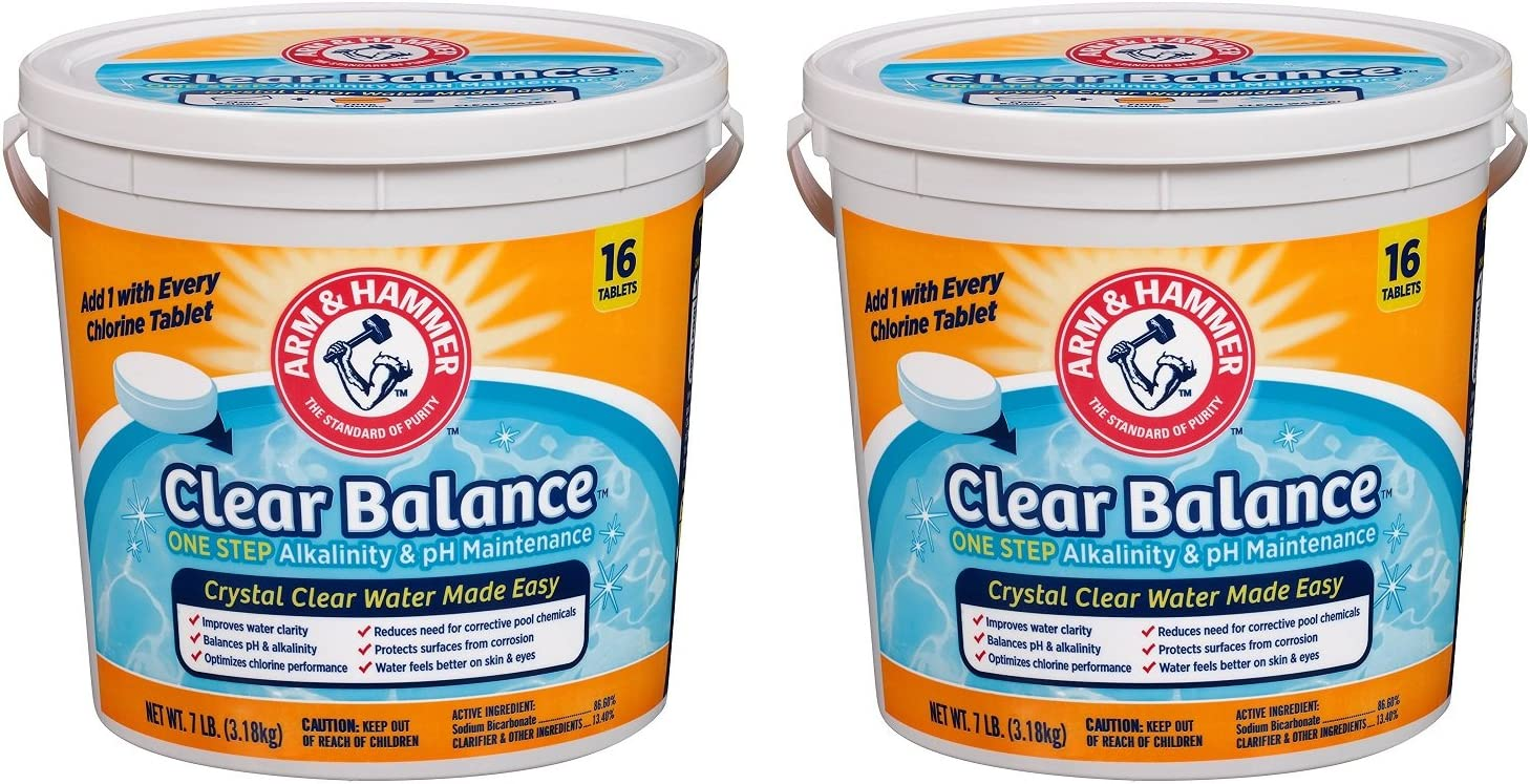 Arm & Hammer Clear Balance Pool Maintenance Tablets (.2 PACK)