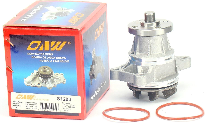 Amazon Com Oaw S1200 Engine Water Pump For 99 08 Suzuki Grand Vitara 02 06 Xl 7 01 04 Chevrolet Tracker V6 2 5l 2 7l Automotive