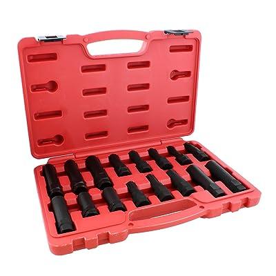 ABN Wheel Lock Removal Tool Kit Lug Nut Key Set, 16-Piece – Master Wheel Lock Key Set Lug Key Wheel Lock Removal Kit: Automotive