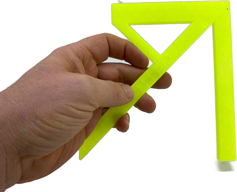 Angle de centrage pour le mat/ériel rond et les rectangles du n/éon Profi Mittenfinder
