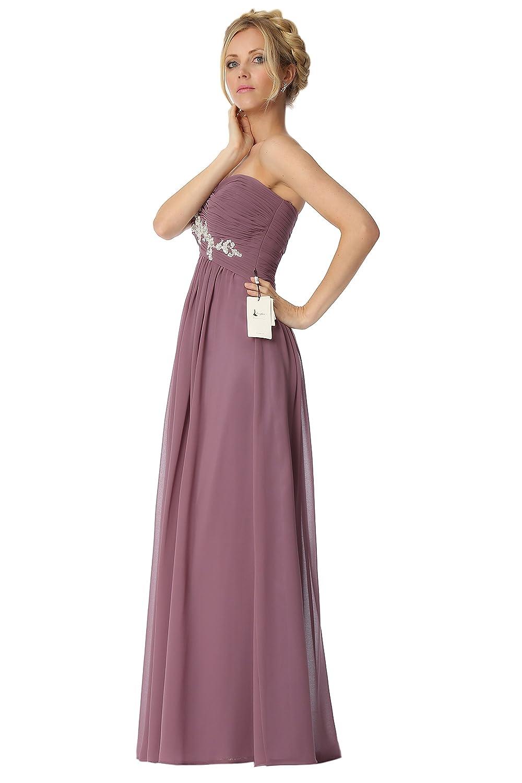 SEXYHER Strapless Criss-Cross ruching Bridesmaids Formal Evening Dress -EDJ1791