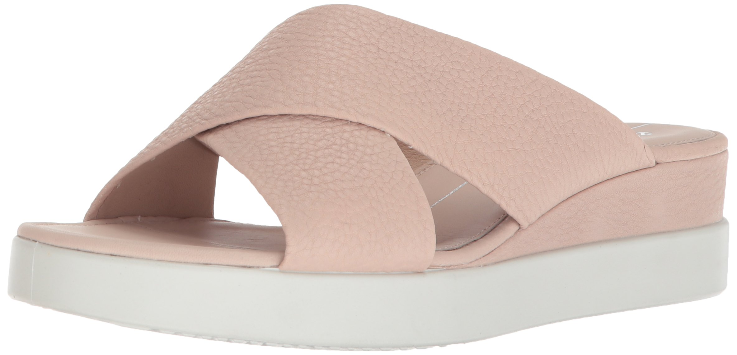 ECCO Women's Women's Touch Plateau Slide Sandal, Rose Dust, 38 M EU (7-7.5 US)