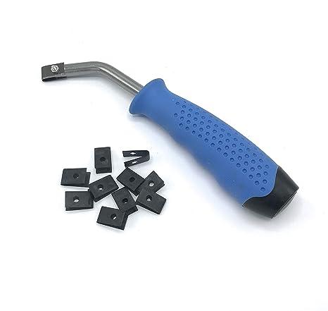 TradeUnderlay 2615 - Herramienta para soldadura de suelos de vinilo (con cuchilla)