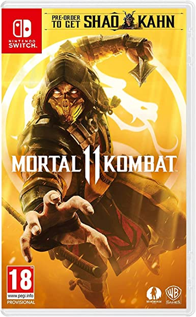 Warner Bros Mortal Kombat 11 vídeo - Juego (Nintendo Switch, Lucha ...
