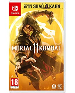 Mortal Kombat 11 - Nintendo Switch [Importación inglesa]: Amazon ...