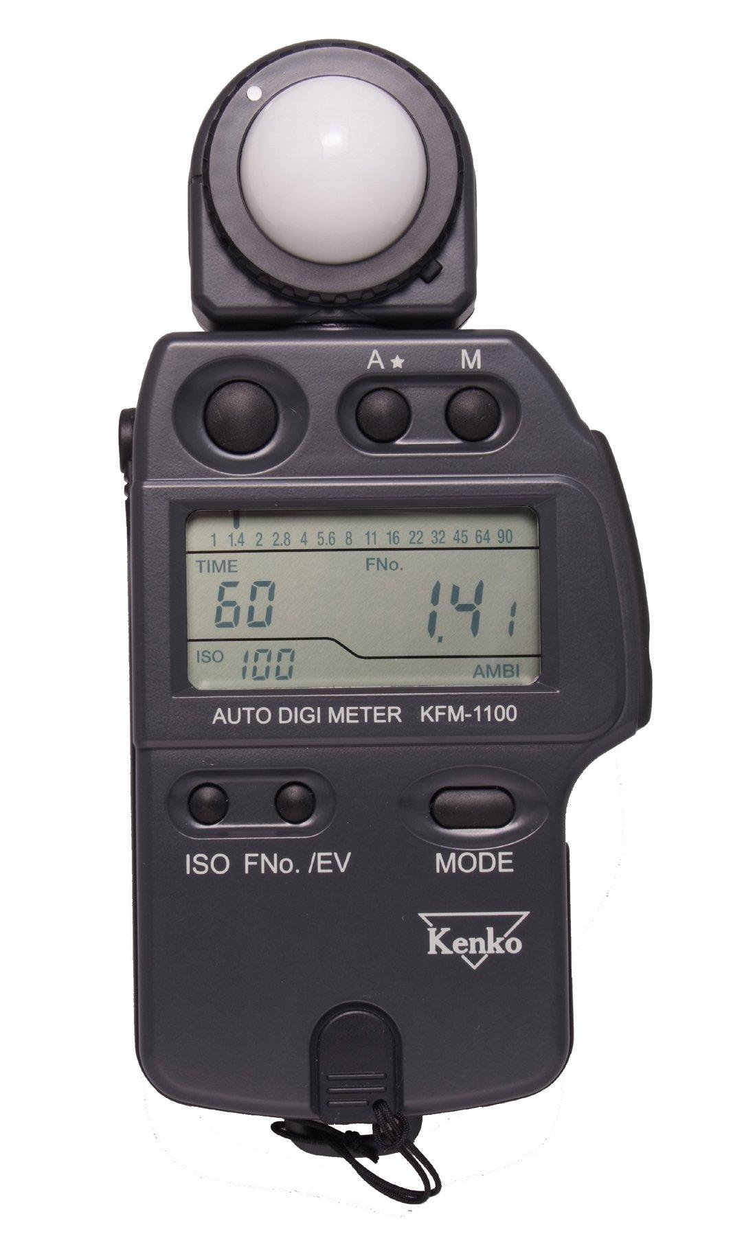 Kenko KFM-1100 Auto Digi Meter - Light Meter for Flash and Ambient Light by Kenko