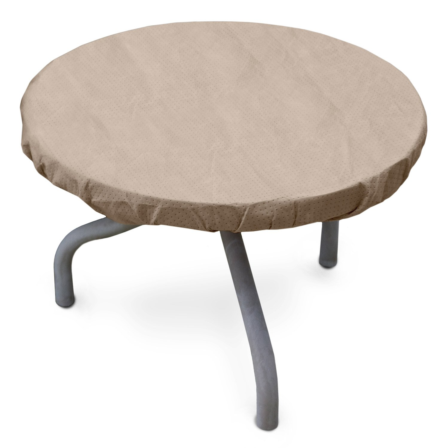 Amazon.com : KoverRoos III 31542 26 Inch Round Table Top Cover, 30 Inch  Diameter, Taupe : Patio Table Covers : Garden U0026 Outdoor Part 93