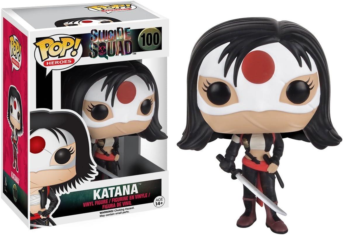 POP! Vinilo - Suicide Squad: Katana: Funko Pop! Movies:: Amazon.es ...