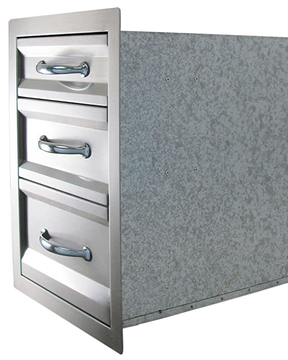 Amazon.com: Sunstone Grills 17 en. Premium Triple Acceso ...