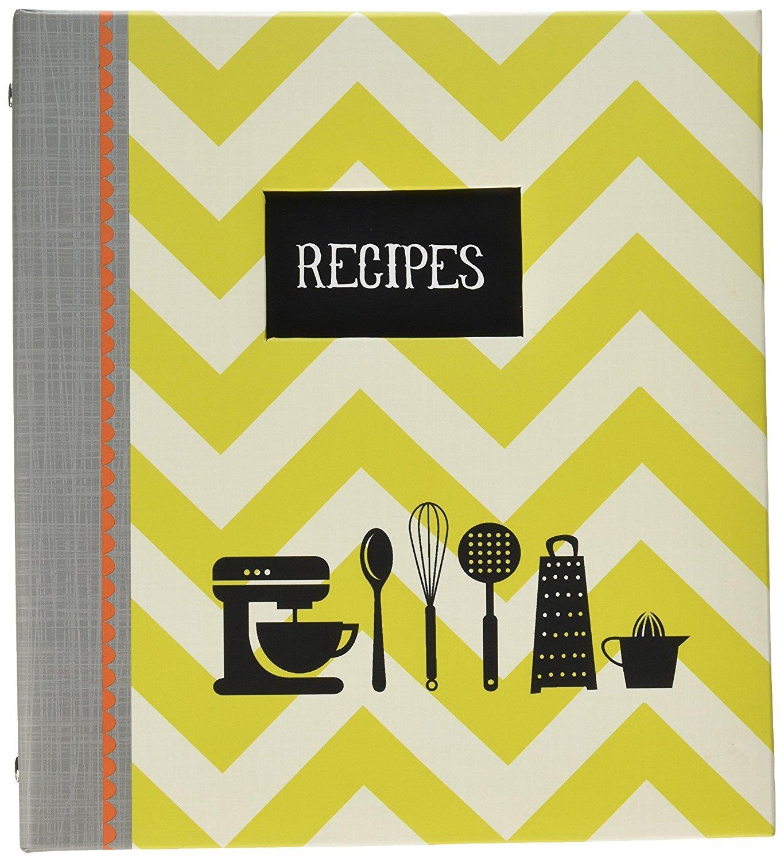 Amazon.de: C.R. Gibson blanko Rezept Book Binder mit Taben - Küche ...