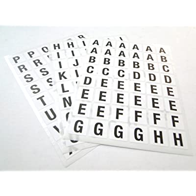 Ivy Stationery - Pegatinas con letras del alfabeto: Juguetes y juegos