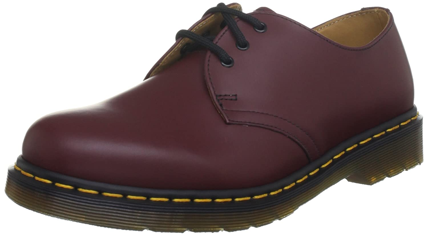 Dr. Flâneurs Martens 1461 Pw, Flâneurs mixte Rouge adulte - Smooth) noir, UK EU Rouge (Cherry Red Smooth) e787af6 - therethere.space