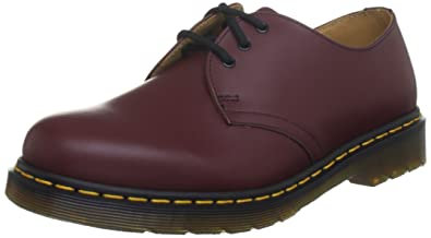 6782207d0a74b3 Dr. Martens 1461 59, Derby mixte adulte - Rouge (Cherry Red Smooth)