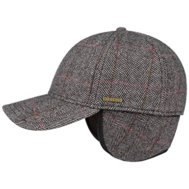 7e30371d3d5f Stetson Kinty Wool Cap with Ear Flaps Men | at Amazon Men's Clothing store: