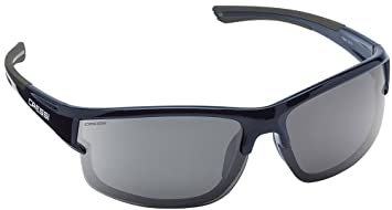 Cressi Phantom Sonnenbrille, Schwarz/Verspiegelte Gläser Gelb, One Size
