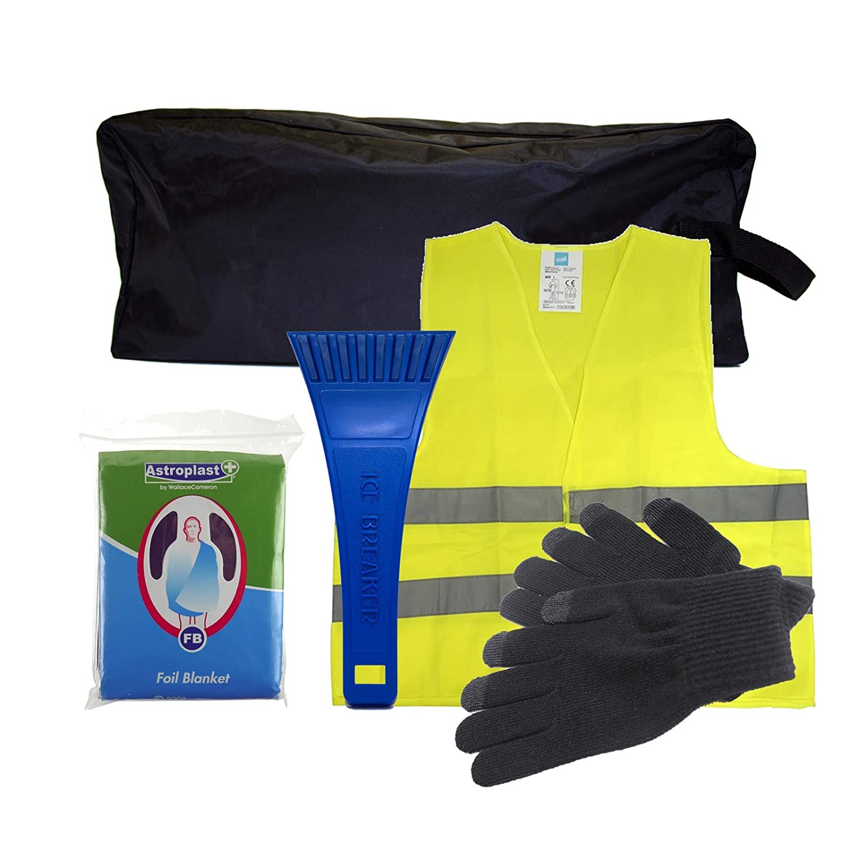 Plateado Kit de emergencias para aver/ías en invierno de SafeTravel