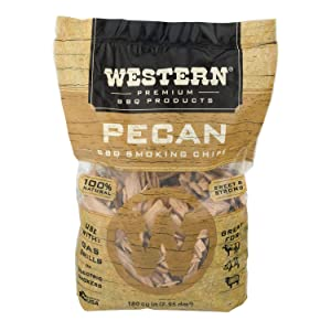 WESTERN 80768 Pecan Smoking Chips, 2.94 L