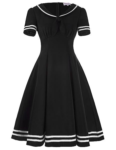 vestidos de swing vestidos festivos de las señoras 50 años vestidos de rockabilly dress S BP266
