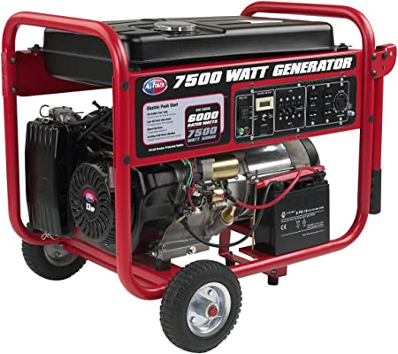 Amazon.com: All Power America APGG7500 - Generador de gas ...