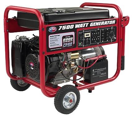 amazon com all power america apgg7500 7500w gas portable generator rh amazon com