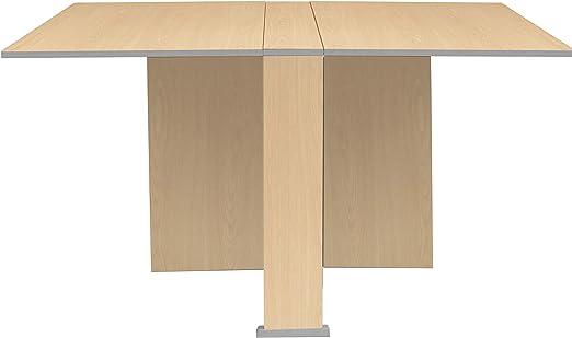 Suarez - Mesa swing alas abatibles, medidas 80 x 75/135 x 75 cm ...