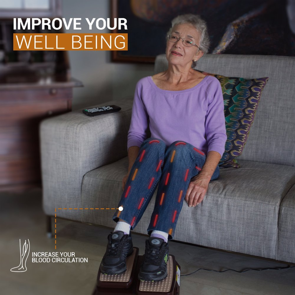 LegActivator - The Seated Leg Exerciser & Physiotherapy Machine for Seniors that Improves your Health and Blood Circulation while Sitting in the Comfort of your Home or Office by Silverfeat (Image #5)